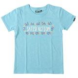 【2017年春夏新作】SATISFACTION刺繍半袖Tシャツ