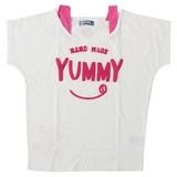 【2017年春夏新作】YUMMY刺繍半袖Tシャツ