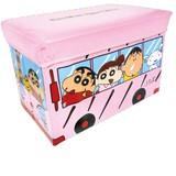 【クレヨンしんちゃん】●キャラクターストレージBOX(バス)