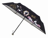 新入荷!ディズニー 晴雨兼用傘 「ベルドリーム」!折畳日傘!かわいいケース付!