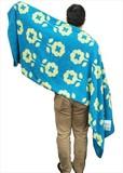 Jacquard Cotton Blanket Flower Single