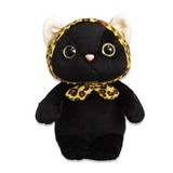 【choo choo】猫 レオパードずきん ぬいぐるみ Mサイズ