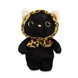 【choo choo】猫 レオパードずきん ぬいぐるみ Sサイズ