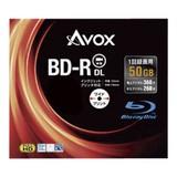 <レジャー><AV機器>アボックス 録画用BD-R 50GB スリム10P BR260RAPW10A