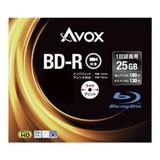 <レジャー><AV機器>アボックス 録画用BD-R 25GB スリム10P BR130RAPW10A