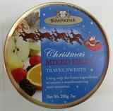 ★先行受注・クリスマス2017★【  SIMPKINS/シンプキン 】クリスマス缶 (Mix Fruit)
