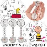 スヌーピー ナースウォッチ ver2 懐中時計 看護士 医療 スマイリー 時計 アナログ ピーナッツ