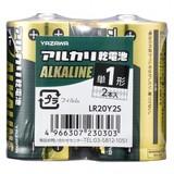 アルカリ乾電池 単1形 2本入 シュリンクパック