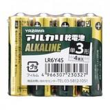 アルカリ乾電池 単3形 4本入 シュリンクパック