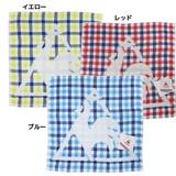 Lecoq Sportiv One Side Gauze Handkerchief Towel Checkered