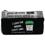 Coffee Lake Pocket Pencil Case