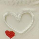 Heart Socks Heart Embroidery