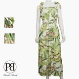 Botanical Shearing One-piece Dress 2017 S/S
