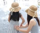 ひんやり☆ミレース付き帽子★夏にピッタリ★オシャレ
