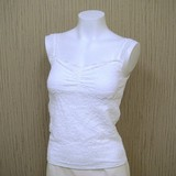 Items Cup Attached Stretch Race Camisole Sole