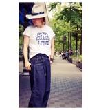 【オープニングSALE】フロッキープリント ロゴTシャツ