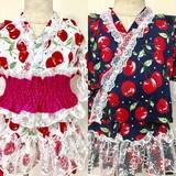 2017 Summer RIPUKA Cherries Dress Yukata