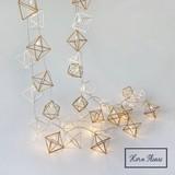 【先行予約】【秋冬新作】[クリスマス]LEDライト ジオメトリック スクエア