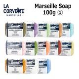 【メディア掲載多数!】【南仏生まれの老舗ソープブランド】La Corvette マルセイユソープ 100g (1)