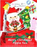 【先行受注】クリスマス ティーバッグ RD (サンタ×ツリー)