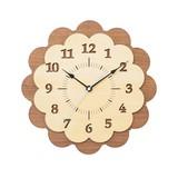 Wall Hanging Product Clock/Watch Walnut