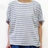 <予約販売>【2017年春夏新作】レディース ルサックボーダーフレンチTシャツ