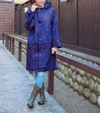 【雨の日のお出かけに!】レインコート *2色(NV,WH)/梅雨 雨 ノベルティ 景品