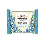 Elfa Pharm Green Pharmacy グリーンファーマシー Bath Soap Blue Iris with Argan Oil