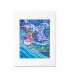 Colleen Wilcox サーフアート (Cosmic Surf)