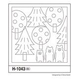 花ふきんH-1043 森のくまさん
