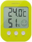 ドリテック デジタル温湿度計「オプシス」グリーンO-230