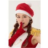 【2017クリスマス先行販売】サンタベレー帽
