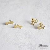 【新入荷】【ピアス】【星】小さめ/ゴールド/シンプル