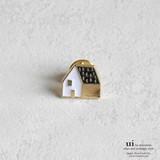 【新入荷】【ピンブローチ】【家】ゴールド/シンプル