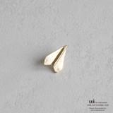 【新入荷】【ピンブローチ】【紙飛行機】ゴールド/シンプル