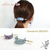 "【aller au lit】-Sunshine BEACH-""アセチ""ロゴ入りマジェステ"