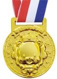 3D合金メダル ライオン 1738