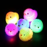 【光るおもちゃ】『光るひよこ&アヒル』<2型6色アソート>