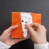 【日本製】福島の刺子織 カードケース