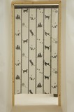 Japanese Noren Curtain Japanese Style Strip Of Paper Japanese Noren Curtain