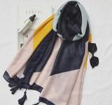 【春めき】UVカット 上質 スカーフ 肩掛け