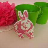 Big Sticker Rabbit Design 10 types Solid Sticker