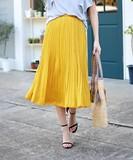 Beautiful Pleats Skirt 2017 S/S