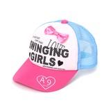 Kids 2017 S/S Girls Ribbon Trucker Hat
