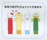 【サンリオ】手つなぎキャラペン4本セット(ケース入り)