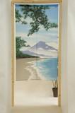 Japanese Noren Curtain Japanese Style Four Seasons Fuji