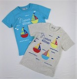 Yacht Applique Short Sleeve T-shirt