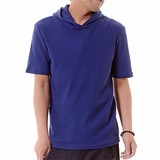 Waffle Short Sleeve T-shirt Hoody
