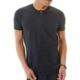 Summer Knitted Henry Short Sleeve T-shirt