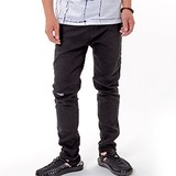 Ankle Tapered Denim Pants